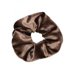 scruncie sweet velvet bruin