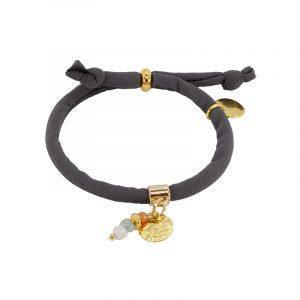 grijs armband elastiek
