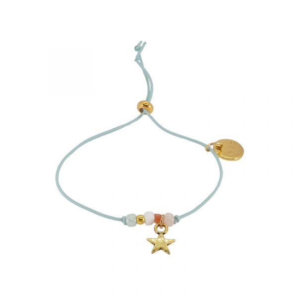 armband met kraaltjes en ster