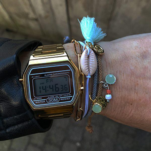 Ibizastyle armbanden set