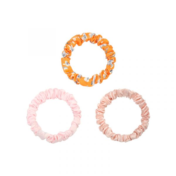 Hair Tie Flora roze/oranje