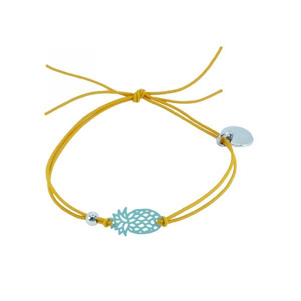 Ankle bracelet pineapple