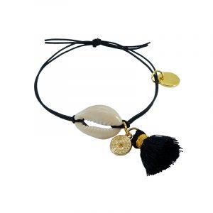 bracelet shell black