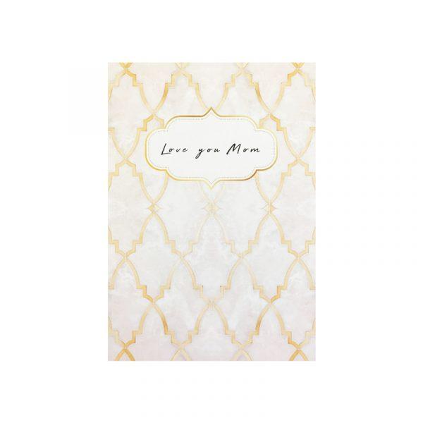 Sieraden kaart Love you mom