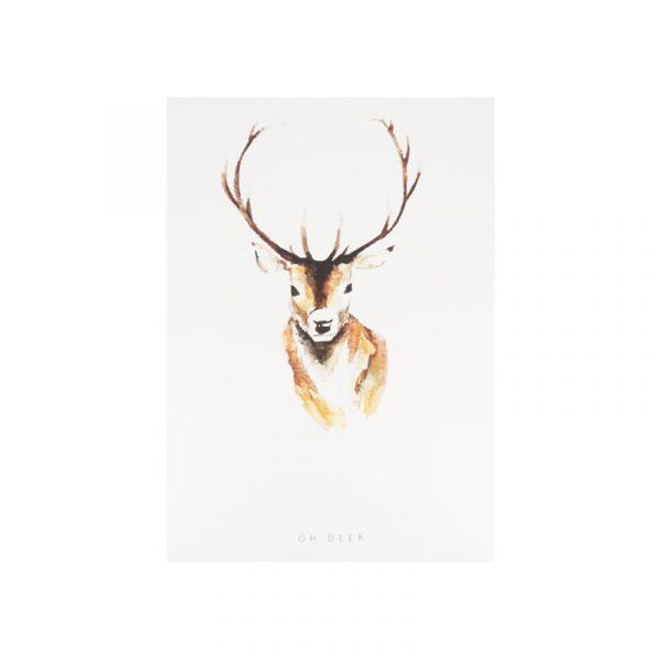 Sieraden kaart Oh Deer