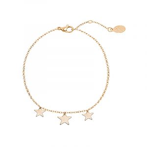 Armband Triple Stars goud