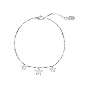 Armband Triple Stars zilver