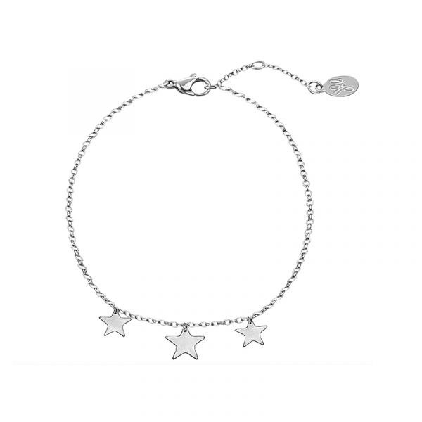 Armband Triple Stars zilver