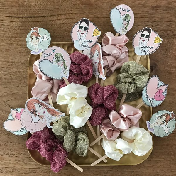 candy scrunchies