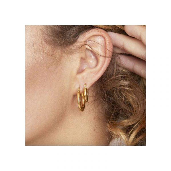 oorbellen hoops smooth model