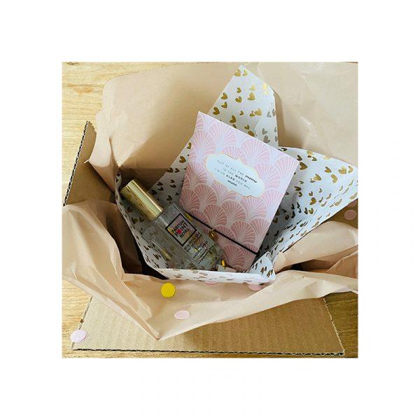 Giftbox Mama met kaart armband en parfum